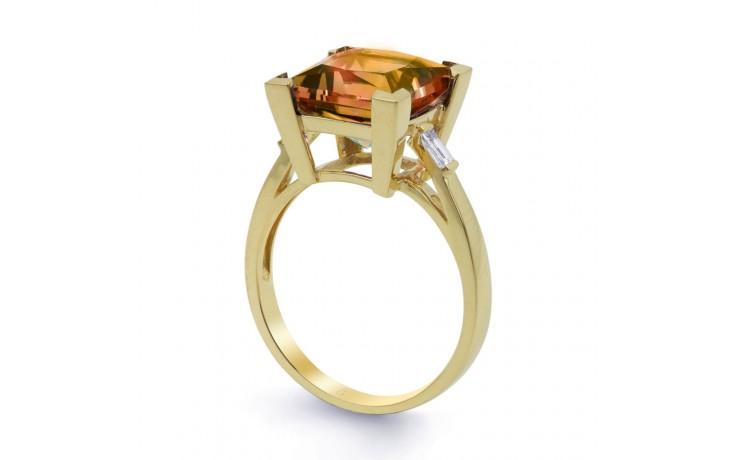 Citrine & Diamond Designer Gold Ring  product image 2