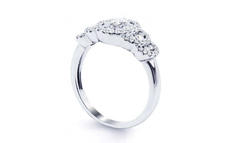 Fancy Diamond Cluster Ring product image 2