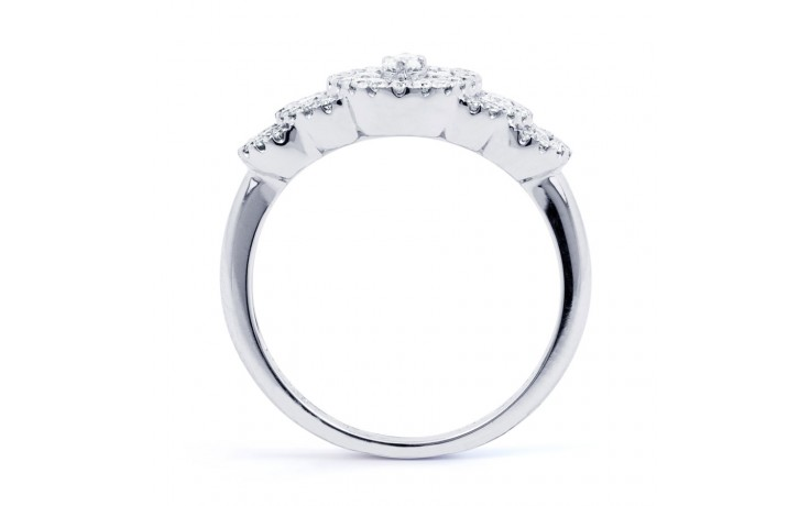 Fancy Diamond Cluster Ring product image 3