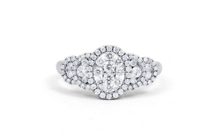 Fancy Diamond Cluster Ring product image 1