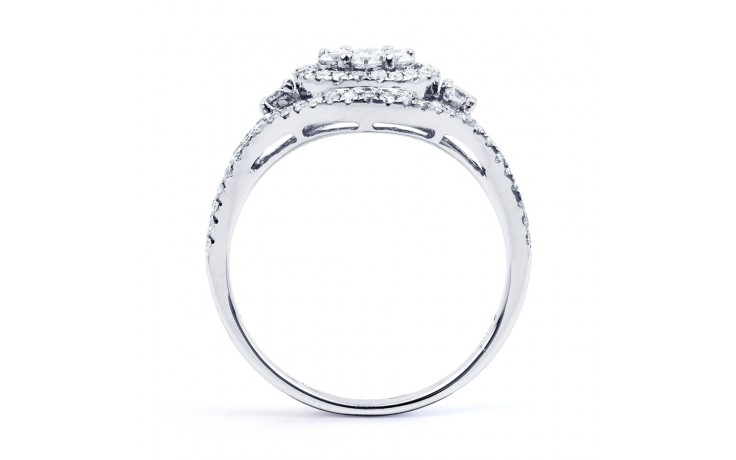 Diamond Cluster Engagement Ring product image 3