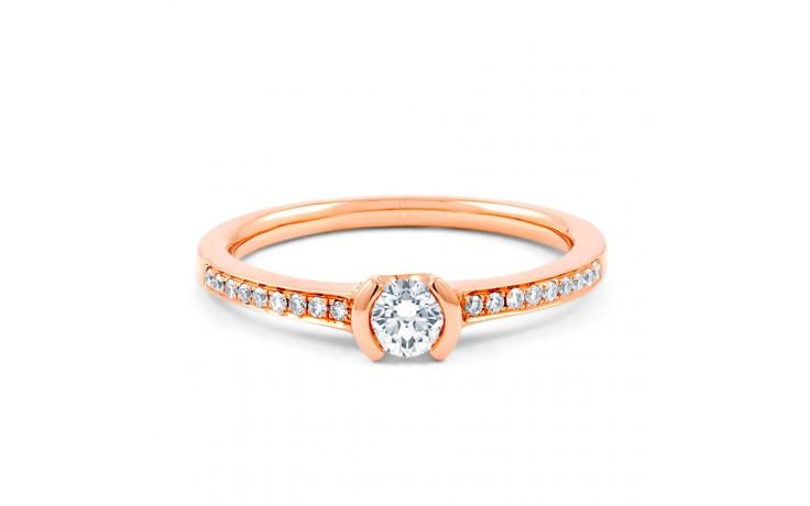 Star Rose Gold Diamond Ring product image 1