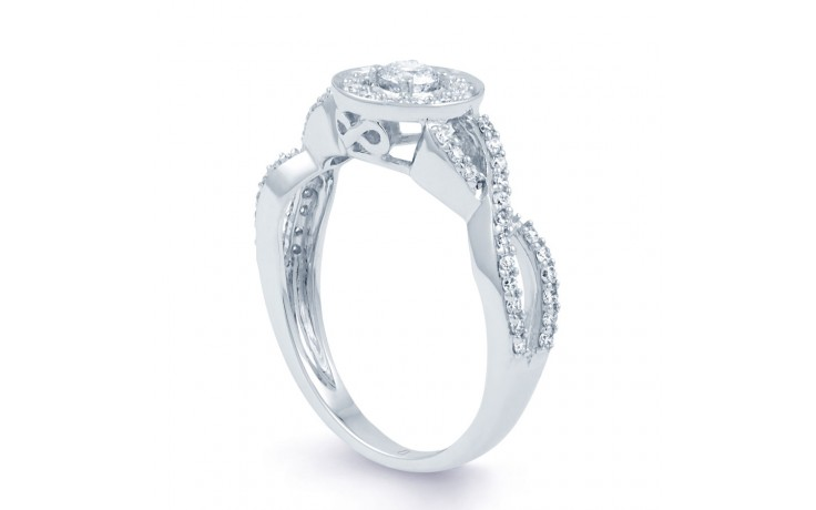 Infinity Engagement Ring product image 2