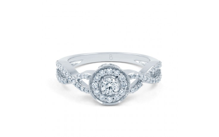 Infinity Engagement Ring product image 1