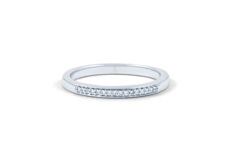 Infinity Engagement Ring with Pink Rhodium product image 4