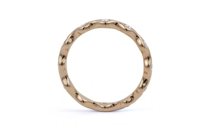 18ct Rose Gold Diamond Full Eternity Ring Band 0.36ct 3.5mm  product image 3
