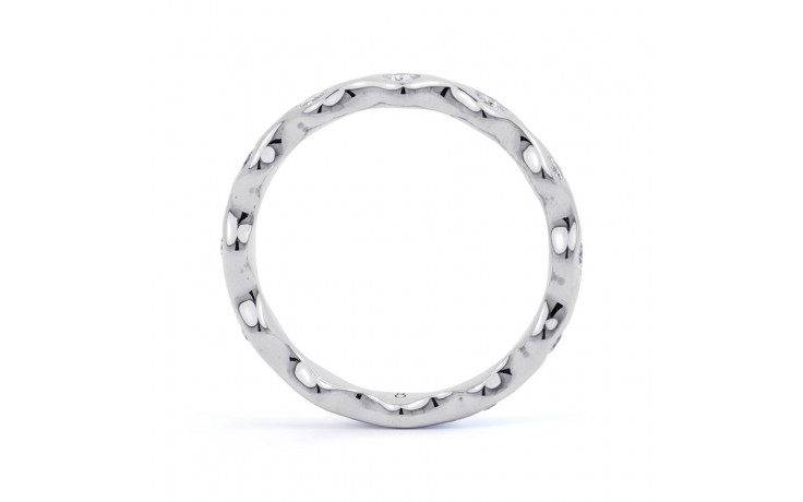 18ct White Gold Diamond Full Eternity Ring Band 0.36ct 3.5mm  product image 3