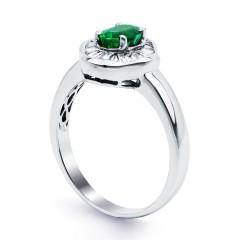 Muses Zambian Emerald Ring image 1