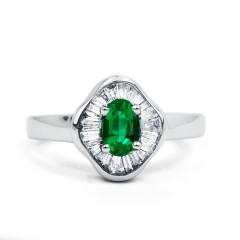 Muses Zambian Emerald Ring image 0