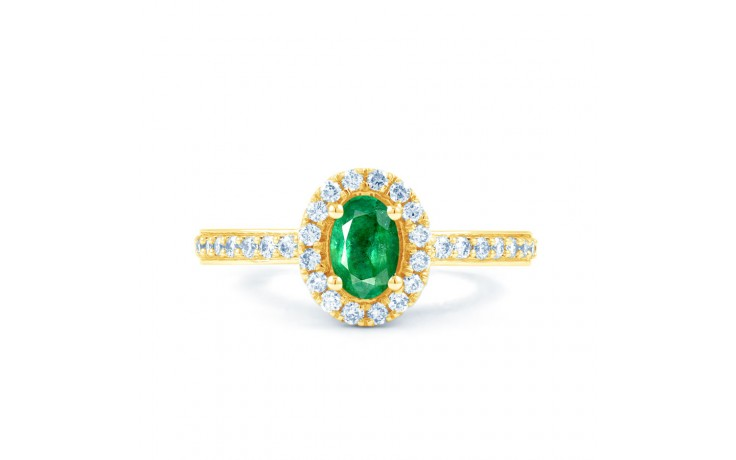 Allure Emerald Gold Ring  product image 1
