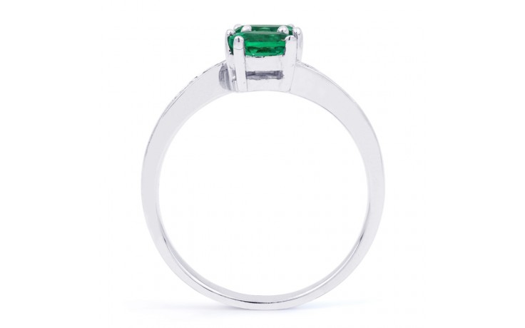 Emerald Crossover Ring product image 3
