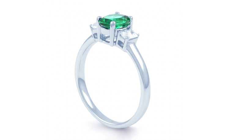 Emerald Oval Ring  product image 2