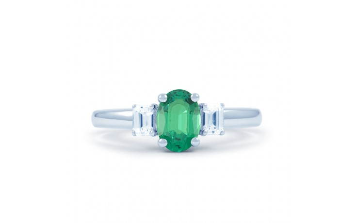 Emerald Oval Ring  product image 1
