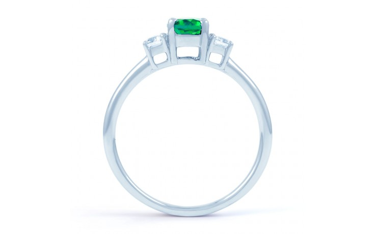 Emerald Oval Ring  product image 3