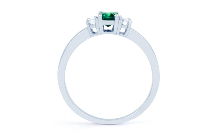 Emerald Baguette Ring product image 3