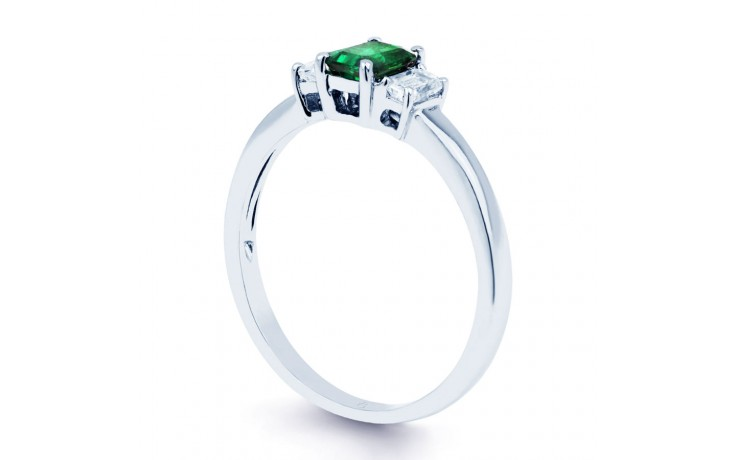 Emerald Baguette Ring product image 2