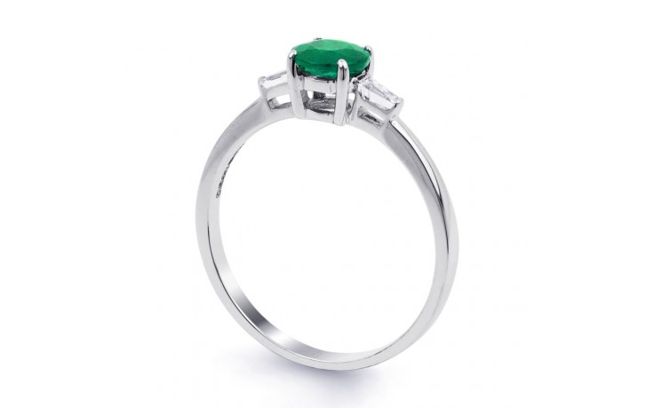 Emerald Round Ring product image 2