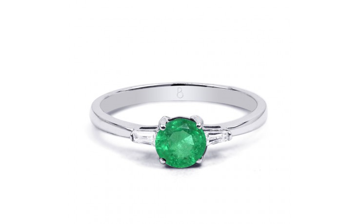 Emerald Round Ring product image 1