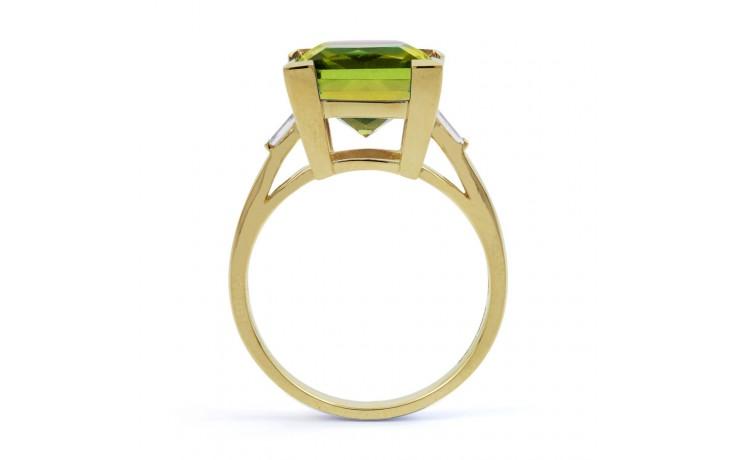 Peridot Designer Gold Ring product image 3