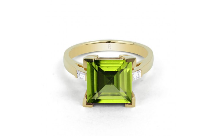 Peridot Designer Gold Ring product image 1