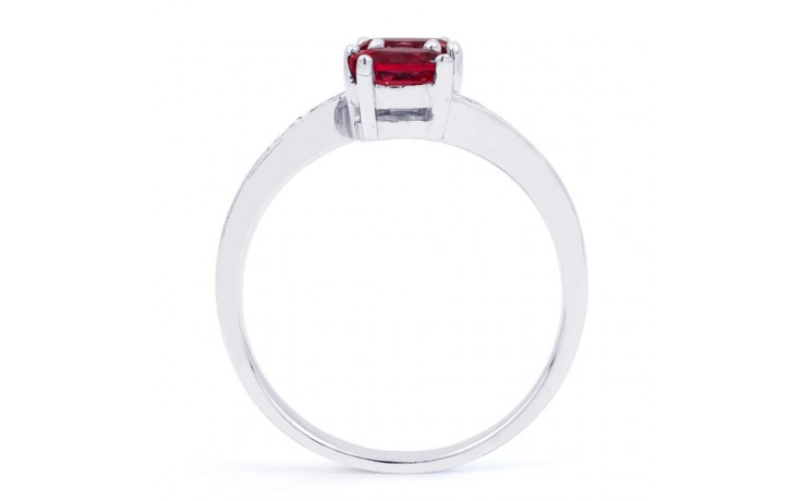Ruby Crossover Ring  product image 3