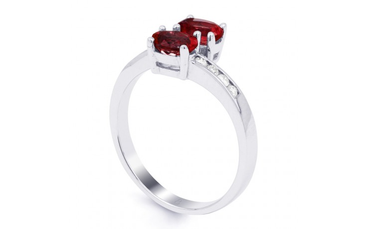 Ruby Crossover Ring  product image 2
