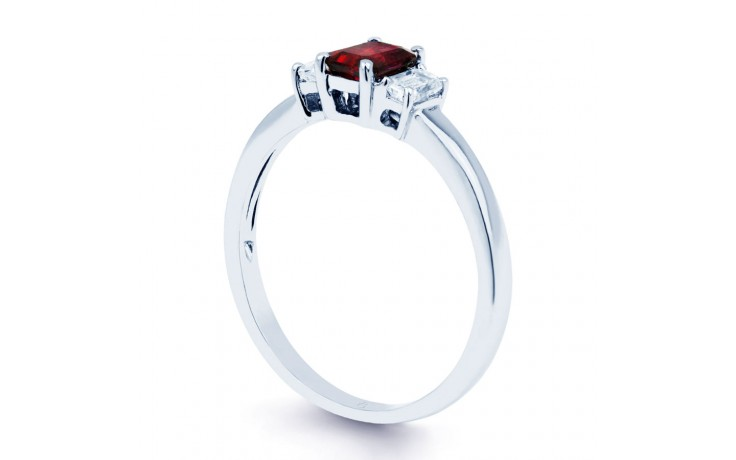 Octagon Ruby Ring product image 2