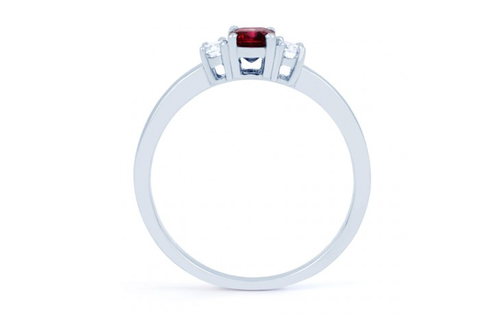 Octagon Ruby Ring product image 3