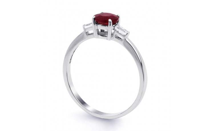 Round Ruby Ring product image 2