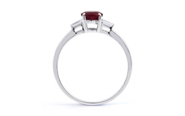 Round Ruby Ring product image 3