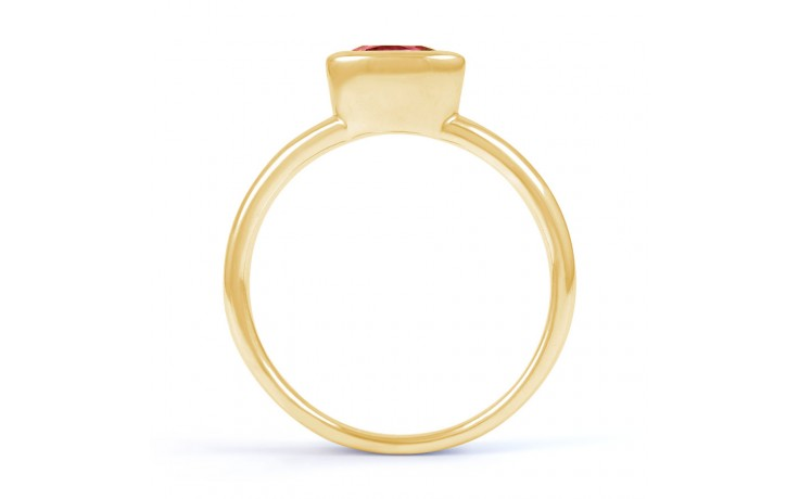 Ruby Birthstone Gold Ring  product image 3