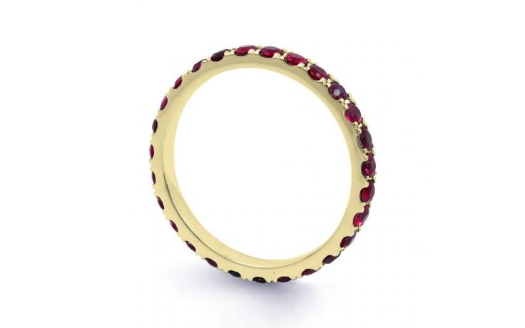 Ruby Gemstone Eternity Band 2.2mm product image 2