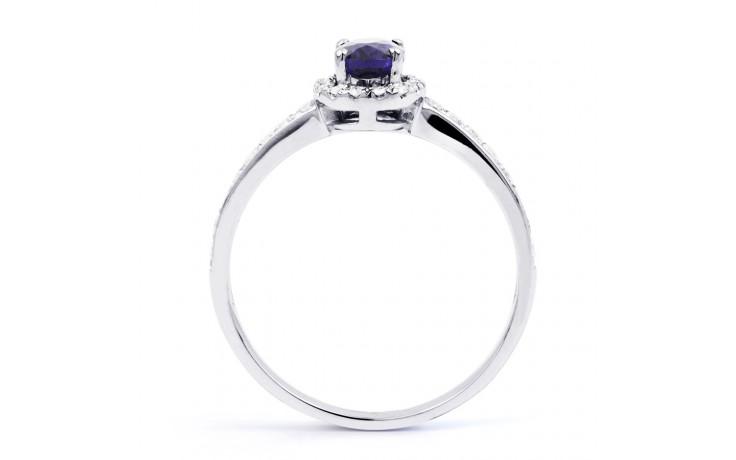 Tanzanite Halo Ring  product image 3