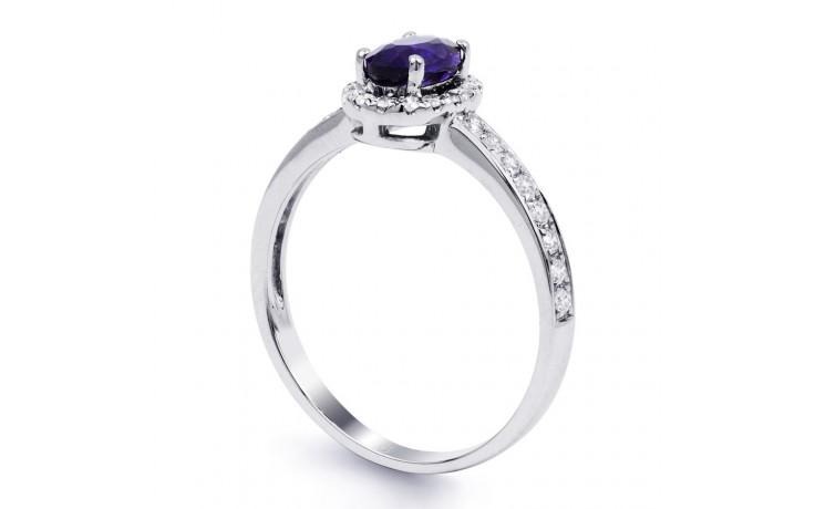 Tanzanite Halo Ring  product image 2