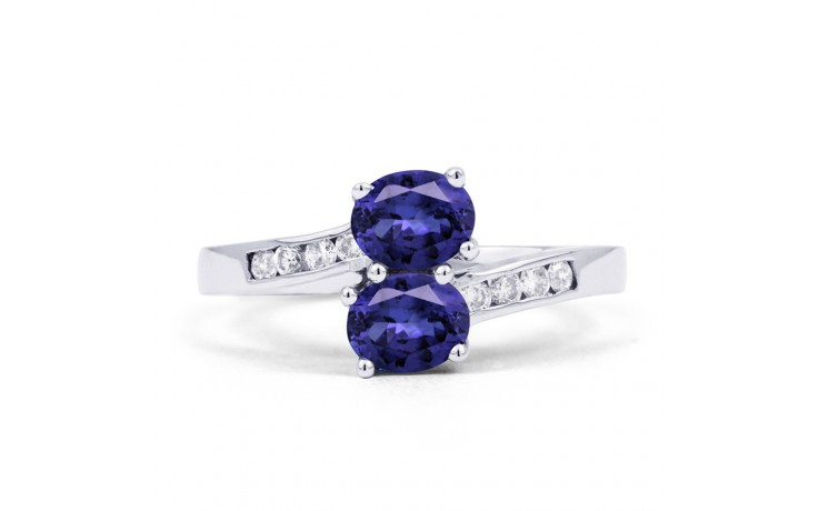 Tanzanite Crossover Ring product image 1