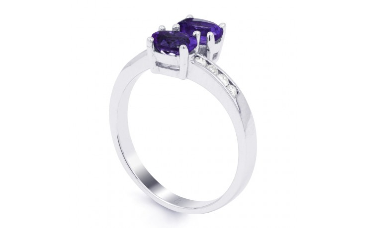 Tanzanite Crossover Ring product image 2