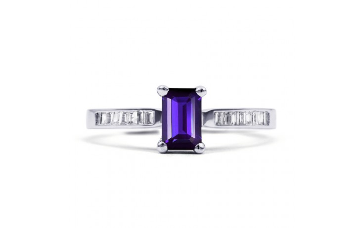Tanzanite Octagon Ring product image 1
