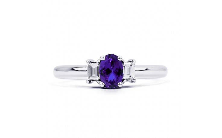 Tanzanite Oval Engagement Ring product image 1