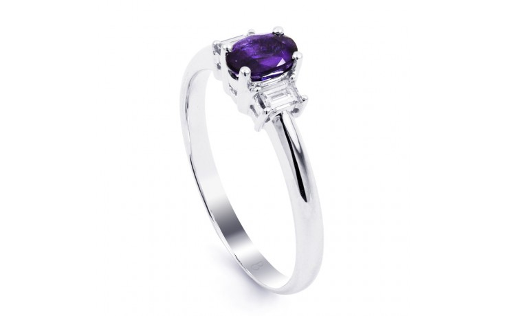 Tanzanite Oval Engagement Ring product image 2