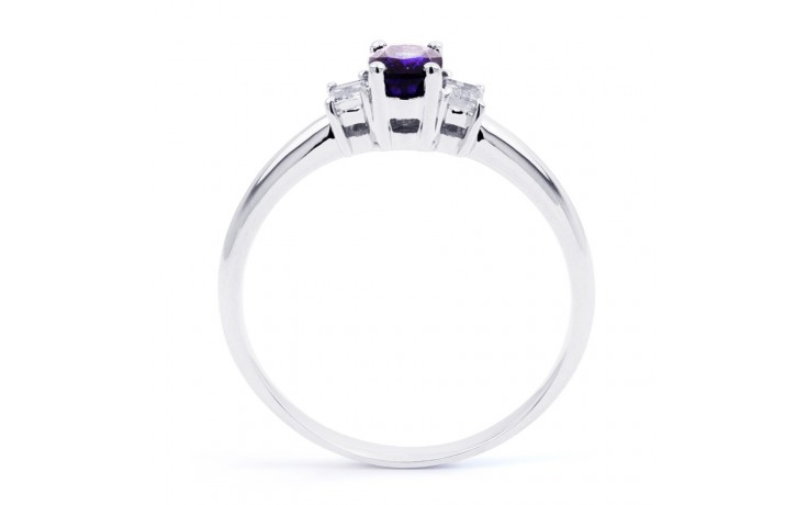 Tanzanite Oval Engagement Ring product image 3