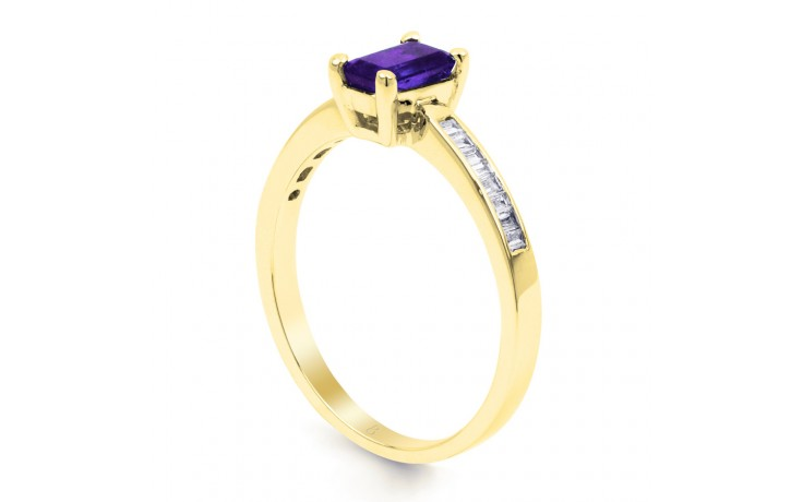 Tanzanite Octagon Gold Ring product image 2