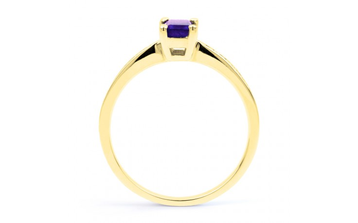 Tanzanite Octagon Gold Ring product image 3