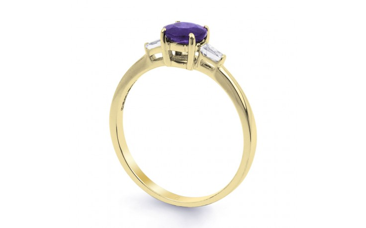 Tanzanite Round Gold Ring product image 2