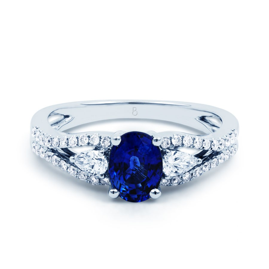 luxe sapphire engagement ring sapphire engagement rings. Black Bedroom Furniture Sets. Home Design Ideas