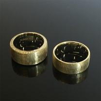Yellow Gold Couple Wedding Rings