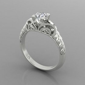 Bespoke Vintage Diamond Ring