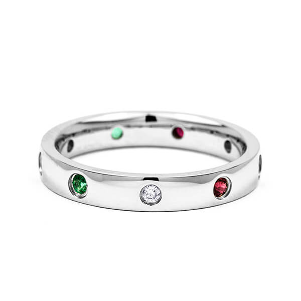 custom eternity ring