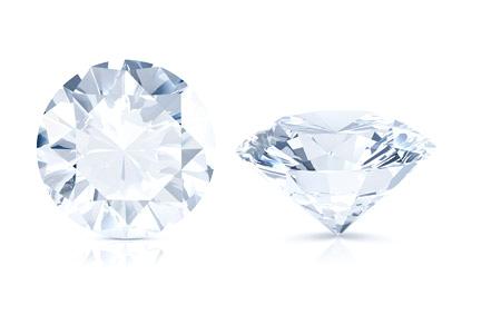 Round shape gemstone
