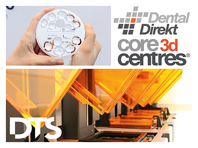 ​A new quality of digital workflow: Core3dcentres® and Dental Direkt join forces