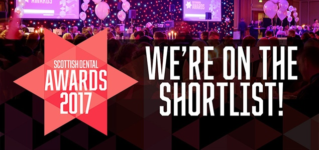 We've Been Nominated! | The Scottish Dental Awards